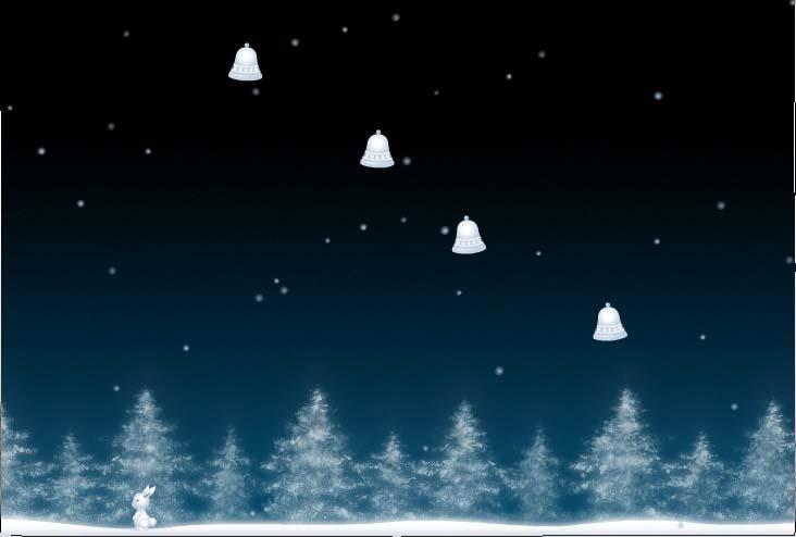 Winterbells untxiarekin gora ta gora