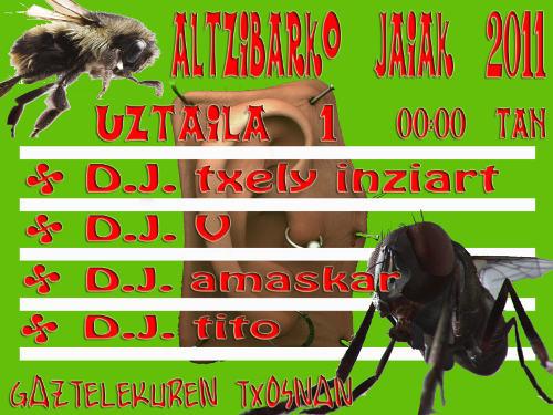 Altzibarko Jaiak 2011