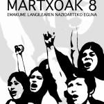Martxoak  8:  emakume  langilearen  nazioarteko  eguna