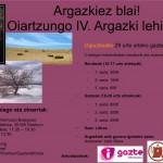 Oiartzungo  IV.  Argazki  lehiaketa:  Argazkiez  Blai!