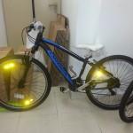 4 mountain bike, 200 txirrin eta 200 argi iritsi dira!!