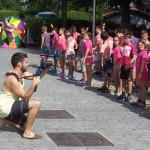 2015eko  udaleku  irekietan  grabatu  dugun  Flashmob.