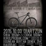 Iritsi  da  aurtengo  Aiako  Harriko  mountain  bike-ko  proba