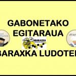 PREST  DUGU  GABONETAKO  EGITARAUA!