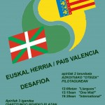 Euskal  Herria  vs  Pais  Valencia  desafioa:  Llargues,  One  Wall  eta  International