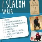 Larunbat  honetan,  Elorsoro  Kiroldegian:  Oiartzungo  I.  slalom  saria!