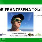 "[KIROLA, ZERTARAKO?] Aitor Francesena ""Gallo"": surfa, bizimodu bat da."