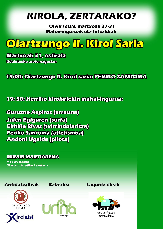 II. Kirol Saria