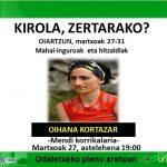[KIROLA,  ZERTARAKO?]  Oihana  Kortazar:  Mendi  korrrikalaria