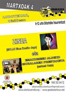 zinea + muralan prestaketa