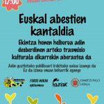Euskal  abestien  kantaldia!!