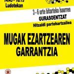 HITZALDI PARTEHARTZAILEA: MUGAK EZARTZEAREN GARRANTZIA
