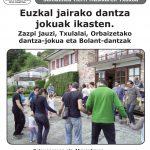EUSKAL JAIRAKO DANTZAK IKASTEN