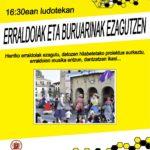 """AZAROAK  10,  16:30ean  """"ERRALDOIAK  ETA  BURUARINAK  EZAGUTZEN"""""""