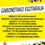 Gabonetako  egitaraua