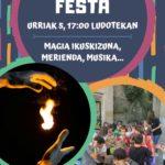 URRIAK  5:  HASIERA  FESTA!