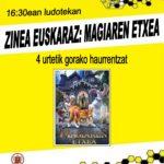 AZAROAK  2:  ZINEA  EUSKARAZ  (MAGIAREN  ETXEA)