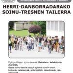 AZAROAK 16: HERRI-DANBORRADARAKO SOINU-TRESNEN TAILERRA