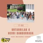 URTARRILAK 4: HERRI DANBORRADA