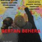 MARTXOAK 14: HARRERA SAIOA BERTAN BEHERA
