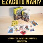IHOTE KARTA JOLASA EZAGUTU NAHI?