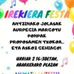 URRIAK 2, LARUNBATA IRIKIERA FESTA!!!